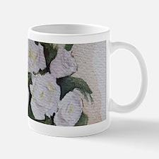 White flowers Mugs