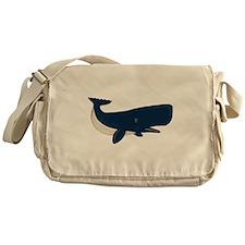 Sperm Whale Messenger Bag