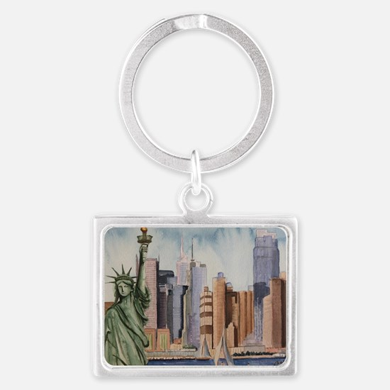 Funny Libertad Landscape Keychain