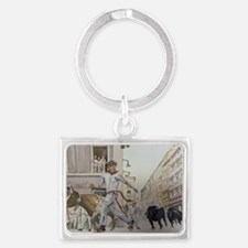 Cute Chico Landscape Keychain