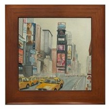 Unique Broadway Framed Tile