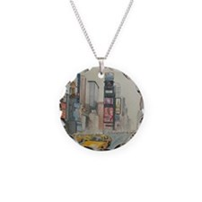 Cute New york street arts Necklace