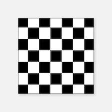 Checkered Pattern Sticker