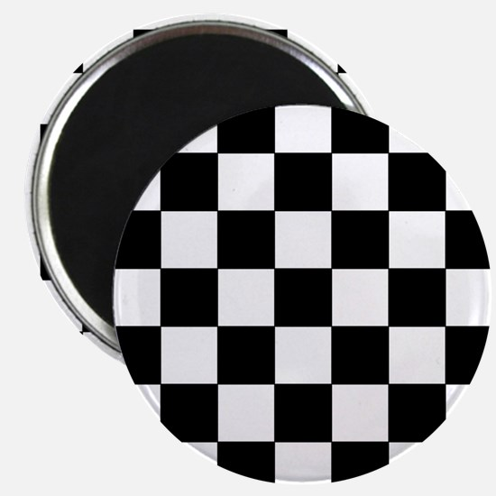 Checkered Pattern Magnets