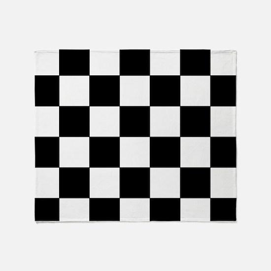 Checkered Pattern Throw Blanket