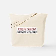 Bench Press Tote Bag