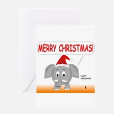 Merry Christmas and Happy Holidays Greeting Cards