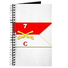 Guidon - B Troop - 2nd Squadron - 7th Cava Journal