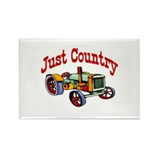 Just Country Rectangle Magnet