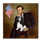 Lincoln & Tri Cavalier Tile Coaster