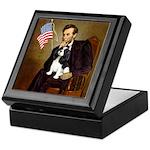 Lincoln & Tri Cavalier Keepsake Box