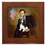 Lincoln & Tri Cavalier Framed Tile