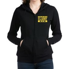 Proud U.S. Army Mom Women's Zip Hoodie