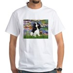 Lilies and Tri Cavalier White T-Shirt