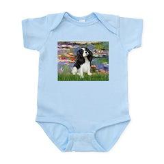 Lilies and Tri Cavalier Infant Bodysuit