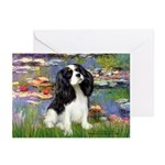 Lilies and Tri Cavalier Greeting Cards (Pk of 10)