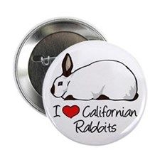 "Unique The rabbit and 2.25"" Button"