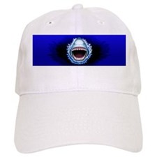 Keep Calm and Shark Jaws Attack! Baseball Baseball Cap