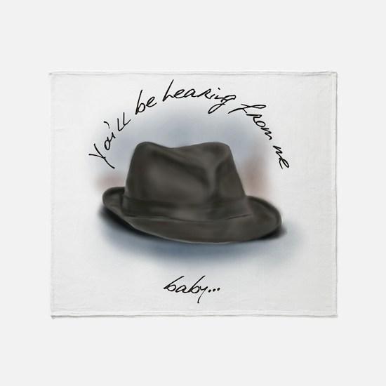 Hat for Leonard 4 Throw Blanket