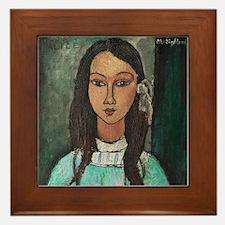 Amedeo Modigliani Alice Framed Tile