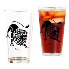 Cute Lion mane Drinking Glass