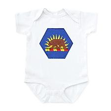 California Military Reserve Infant Bodysuit