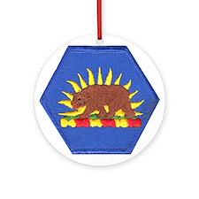 California Military Reserve Ornament (Round)