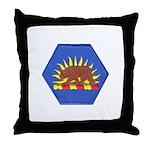 California Military Reserve Throw Pillow