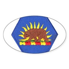 California Military Reserve Oval Decal