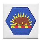 California Military Reserve Tile Coaster