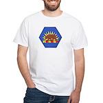 California Military Reserve White T-Shirt