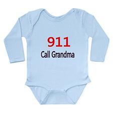 911 Call Grandma Body Suit