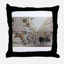 Cute Chico Throw Pillow