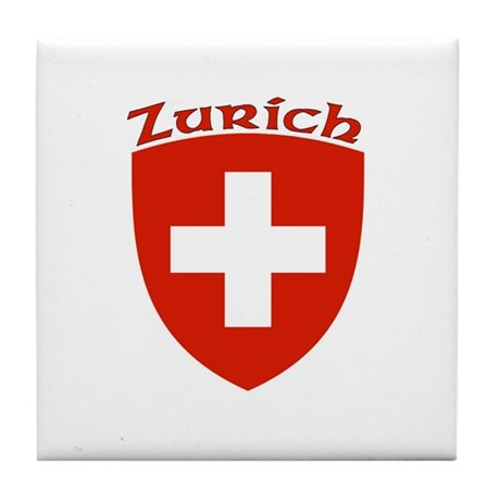 Zurich, Switzerland Tile Coaster