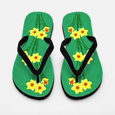 Daffodils Flip Flops