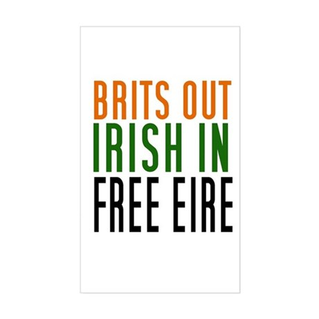 Brits Out Sticker