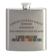 USS Observation Island Flask