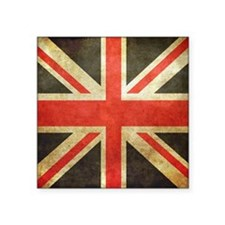 Vintage Union Jack Sticker