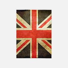 London Flag Black And White