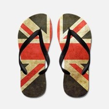 Vintage Union Jack Flip Flops