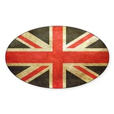Vintage Union Jack Decal