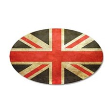 Vintage Union Jack Wall Decal