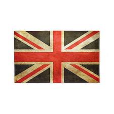 Vintage Union Jack 3'x5' Area Rug