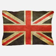Vintage Union Jack Pillow Case