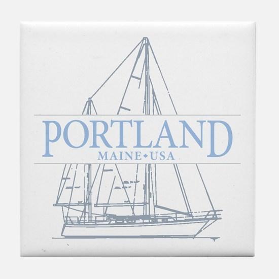 Portland Maine - Tile Coaster