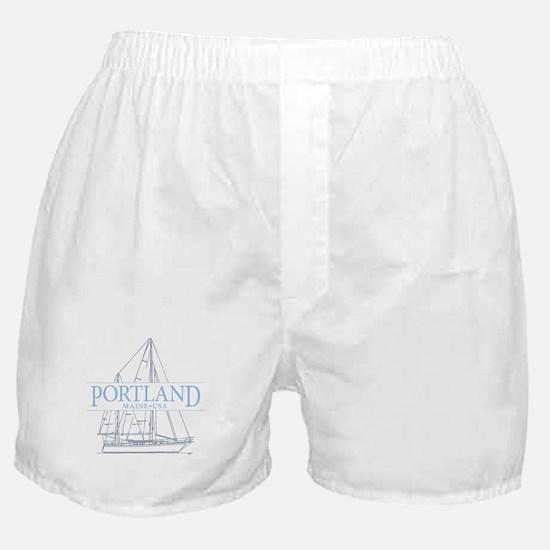 Portland Maine - Boxer Shorts