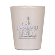 Portland Maine - Shot Glass