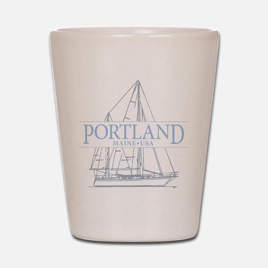 Portland Maine - Shot Glass