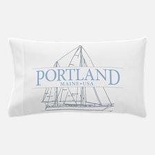 Portland Maine - Pillow Case