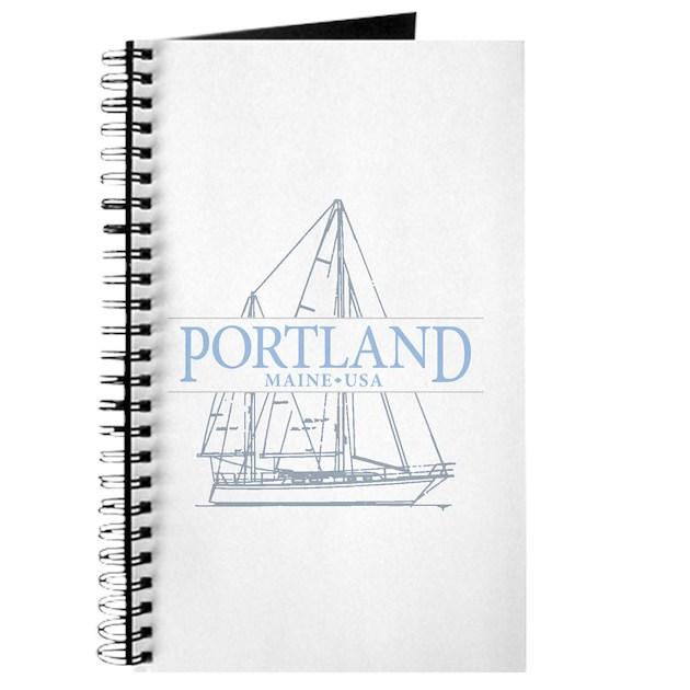 Portland Maine Journal By Tropicspot